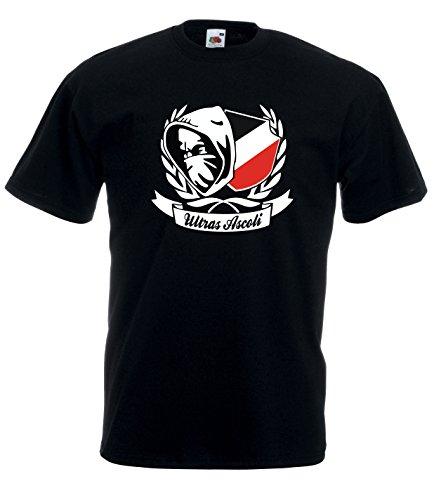 Settantallora - T-Shirt Maglietta J1751 Ultras Ascoli Taglia M