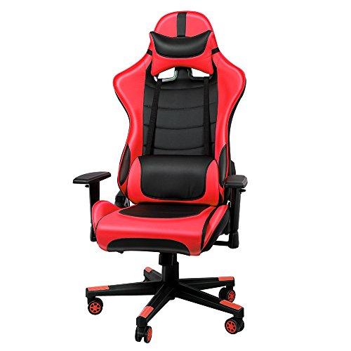 IntimaTe WM Heart Sedia da ufficio sedia lussuosa schienale reclinabile alto cuoio di PU Sedia...