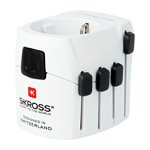 SKROSS PRO - Reiseadapter für Reisende aus Europa (Schutzkontakt-Standard)