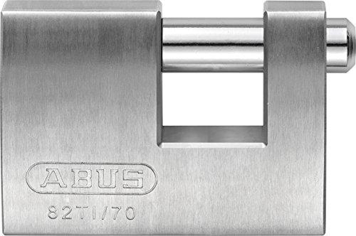 ABUS Vorhangschloss Titalium Monoblock 82TI/70, 24673