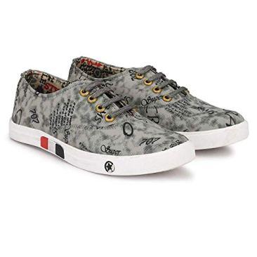 Red Rose Men's Grey Sneaker Shoes 3