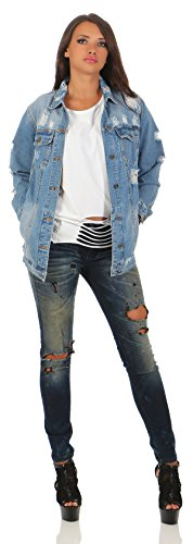 Gang Damen Jeans LUCE new ice wash Slim