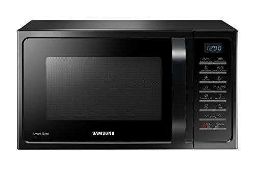 Samsung Forno a Microonde Combinato da 900 W con Grill e Piatto Doratore, 28 Litri, Nero