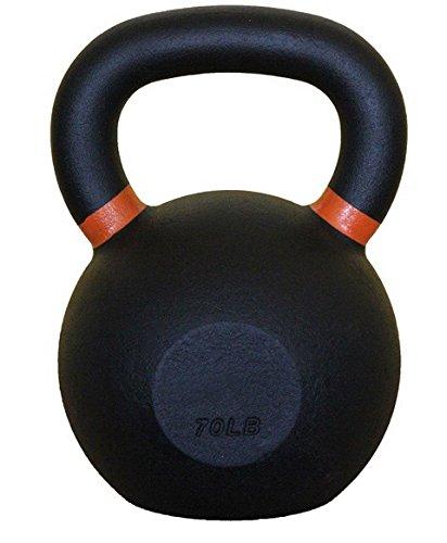Kettlebell in ghisa nero, set da 4a 32kg (da 9a 31,8kilogram) con manici color...