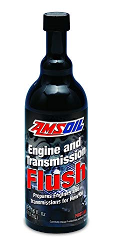 AMSOIL Engine and Transmission Flush : One Treatment Result