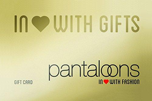 Pantaloons Gold Gift Card-Rs.3000