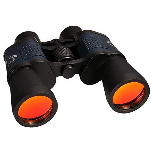 DAXGD 10 x 50 prismáticos telescopio óptico de Impermeable Niebla con correa Mochila Cubiertas de objetivo