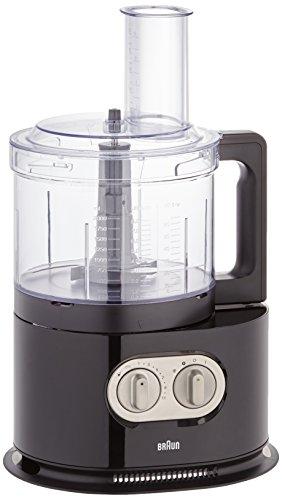 Braun Fp5160Bk Robot da Cucina, 1000 W, Nero