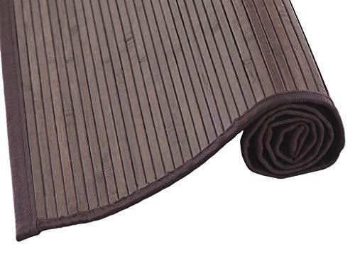 MI CASA Mi Tappeto di bambù 70 x 250, Marrone, Multicolore, 70 x 250 cm