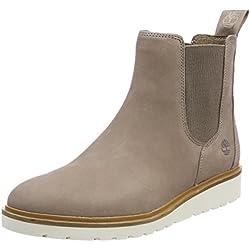 Timberland Damen Ellis Street Chukka Boots, Grau (Taupe Grey Nubuck 929), 36 EU