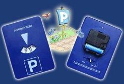 Disque de stationnement automatique type parkscheiben zone bleu Achat