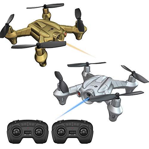 Lefant Nano Battle Drones per Bambini Principianti RC Mini Drone con Emissione di combattimenti a...