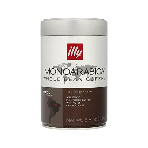 Illy Monoarabica coffee beans (a chocolate notes, full-bodied flavour, intense coffee with aromas of dried fruit and chocolate)