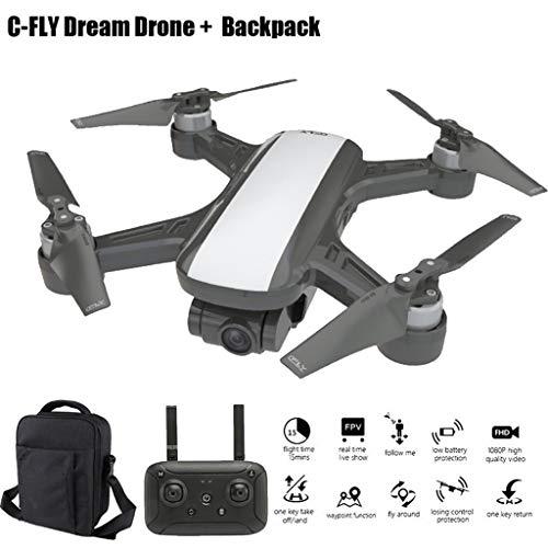 JJggsi4 Drone con Telecamera Pianificazione delle Rotte di Volo C-Fly DREAM GPS WIFI FPV With 2-Axis...