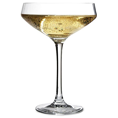 Cabernet Coupe Champagne Saucers 10.6oz / 300ml - Set of 6 | Champagne Glasses