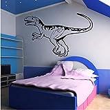 Etiqueta De La Pared 3D Alectrosaurus Dinosaurio Calcomanía De Arte Transferencias Dinosaurios Trex Diseño Decoración De La Habitación De Los Niños Engomada Del Arte Qwerlp