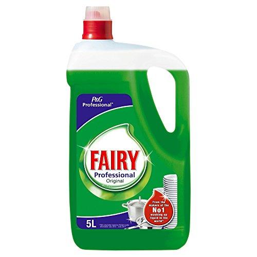 Fairy Professional 870067 Detersivo Liquido Lavastoviglie, Verde, 5 L, 2 Pezzi