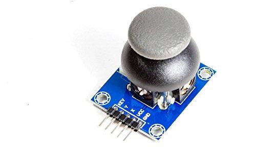 'PS2joystick Break Out modulo per Arduino PIC microcontroller DIY Prototyping confronto bar o forse addirittura identico al modulo joystick di PS 2Game Controllers. L' interruttore premere tramite pressione del joystick knüppels. Stampa del...