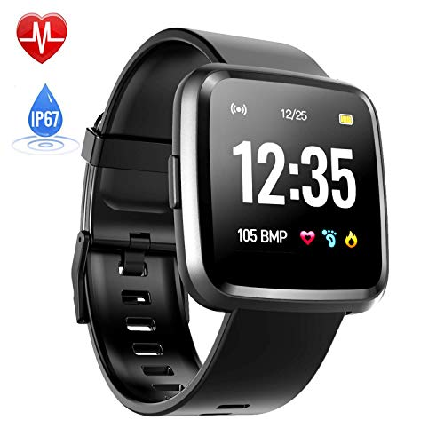 Smartwatch Touch Screen, Hommie Smartwatch Braccialetto Uomo con Bluetooth, Orologio Fitness...