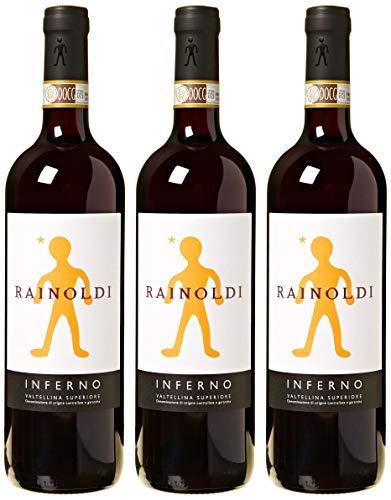 Rainoldi Inferno 2016-3 bottiglie da 750 ml