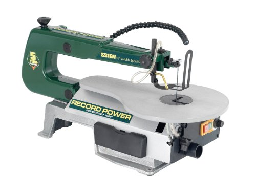 The Record Power SS16V is on our list majorly because of its solid construction and we think that's one of the reasons why it has a impressive 5 year guarantee, 3 years more than most other models. Features such as flexible work light, adjustable speed and tiltable table will generally make for easy cutting and on any angle up to 45 degrees.
