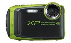 Fujifilm Finepix XP120 - Cámara digital, color verde lima