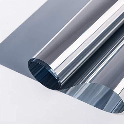 ANGGO - Lámina autoadhesiva para ventanas con efecto espejo y protección solar y térmica
