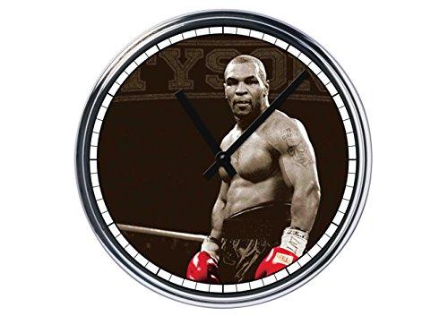 Orologio da partete in acciaio Mike Tyson