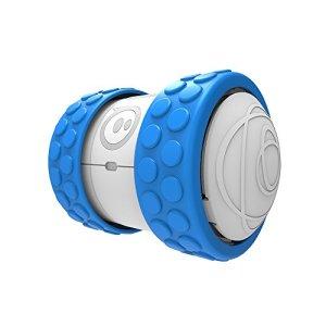 41OaITVX3BL - Orbotix Ollie 1B01ROW  - Robot controlado por móvil (Bluetooth, USB, compatible con iOS y Android), blanco y azul