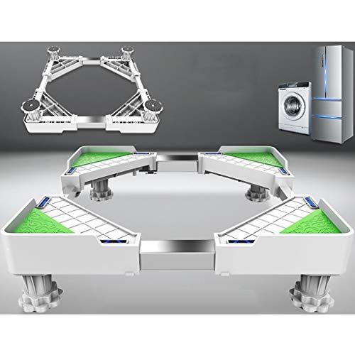 YUFEI Base per Lavatrice Frigorifero Regolabile Supporto per apparecchi Disinfezione Supporto...