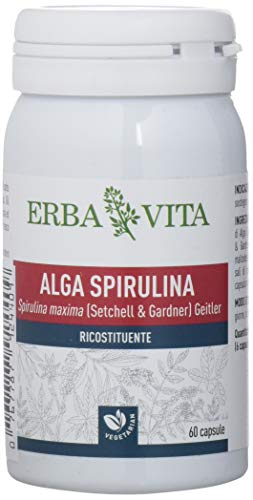 Erba Vita Integratore Alimentare Alga Spirulina - 60 Capsule