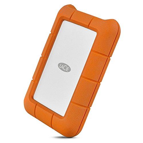 LaCie Rugged-HDD esterno da 5TB (USB 3.1, Tipo C, colore: Nero