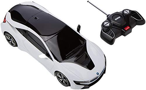 Mondo Motors - Coche BMW i8 con Radio Control, Escala 1:18, 38 cm (63294)