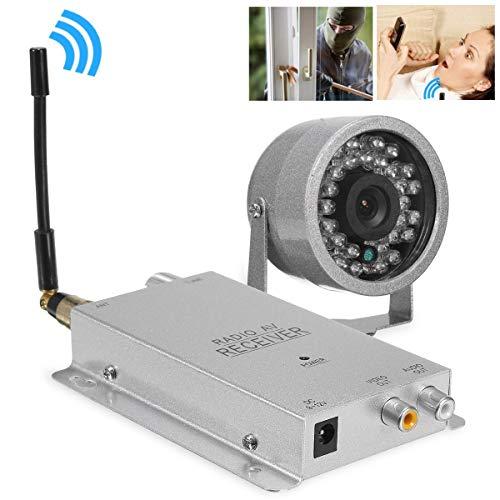 Camera Wireless 1.2g Kit Radio Av Ricevitore Con Alimentazione Sorveglianza Di Sicurezza Domestica Con 30 Led