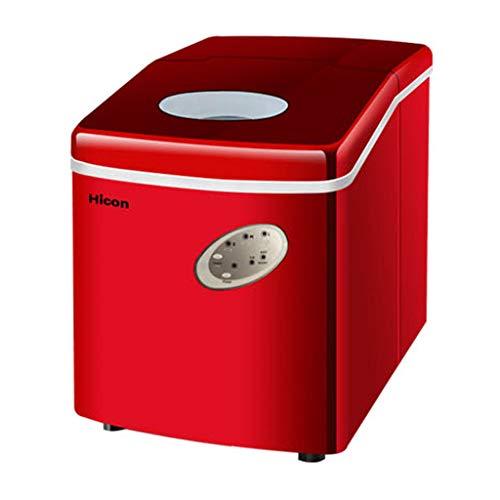 WHJ-Ice maker Macchina per Il Ghiaccio Commerciale 18kg Tea Shop Piccola Famiglia Mini Desktop Bar...