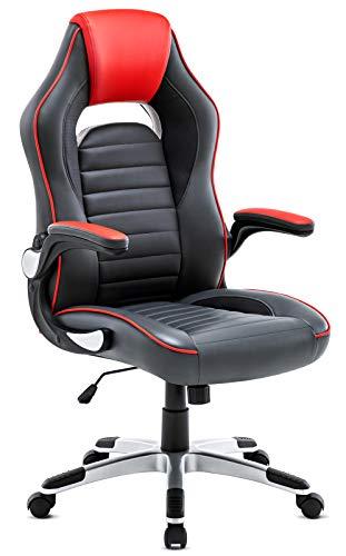 IntimaTe WM Heart Sedia Gaming, Sedile Schienale Alto PU Sedia Esecutiva Sedia da Ufficio con Disegn Ergonomia, Bracciolo Regolabile