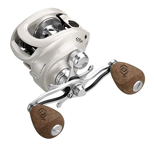 13 FISHING Concept C-Mulinello da Casting, Concept C, Bianco, 8.1:1