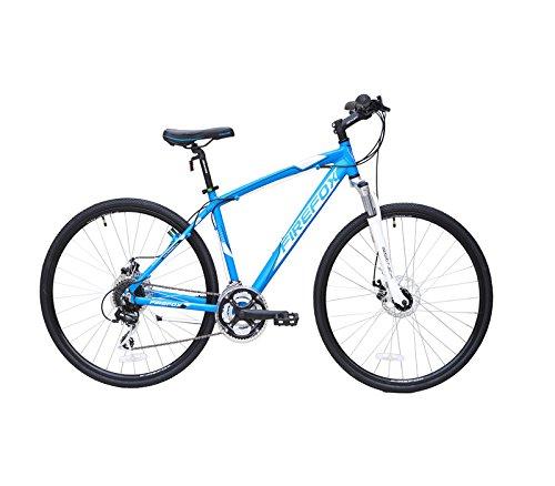 Firefox Momentum 700C Hybrid Bike, Kid's 19.5-inch (Matt Blue)