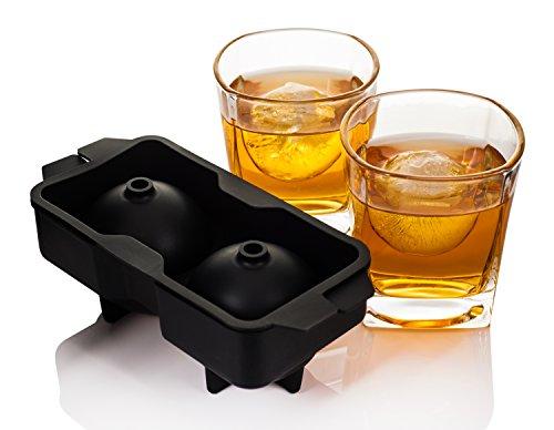 b1e2bfec6f Livivo® – Set di 2 bicchieri da whisky con stampo per ghiaccio a ...