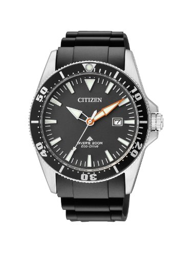 Citizen Orologio Analogico Quarzo Uomo con Cinturino in plastica BN0100-42E