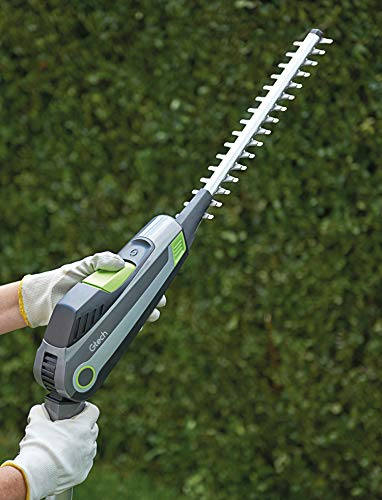 All things considered, the Gtech HT20 Long Reach Hedge Trimmer is a great option if you need a lightweight, easy-to-use and versatile tool that offers multiple options for trimming your garden, especially if you can purchase together with the optional accessories. Gtech have produced some really good tools and have not been around too long being a fairly new company, however there tools are certainly very well built and worth considering, they should need to improve the charge time as 4 hours for modern batteries seems a little to long.