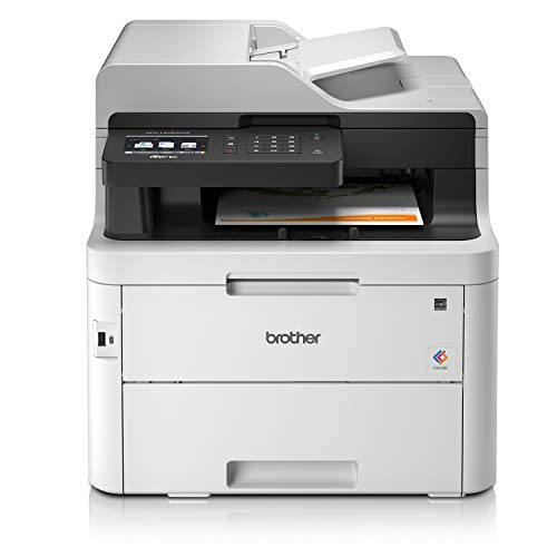 Brother MFCL3750CDWYY1 Stampante Multifunzione a Colori LED con FAX, 24 ppm, Wi-Fi, Ethernet, USB...