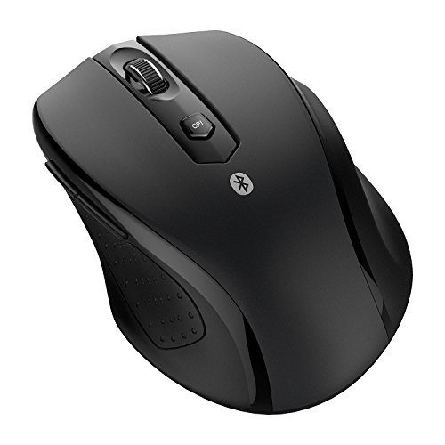 JETech M0884 Bluetooth Drahtlose Kabellose Maus für PC, Mac und Android OS Tablet mit 6 Monate Batterielebensdauer - 0884