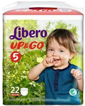 Up&Go Libero Pannolini 5, 22 Pezzi - 10 ml