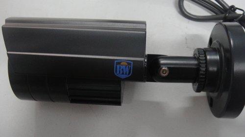 BW BWA722700TVL Outdoor/indoor Weatherproof Day & Night Vision Infrared Bullet telecamera di sicurezza CCTV LED IR 3.6mm angolo di 20m di distanza IR per home video sorveglianza DVR system-black