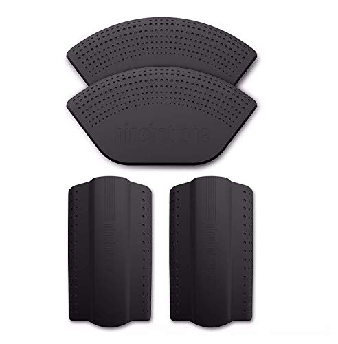 SPEDWHEL Housse de Protection en Silicone de Couleur pour monocycle électrique NINEBOT A1 / S2 / S1 (Noir)