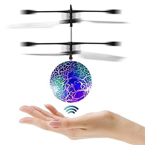 Joy-Fun Giocattoli per Bambini Palla Volante Flying Ball Elicottero Giocattolo Drone per Bambini...