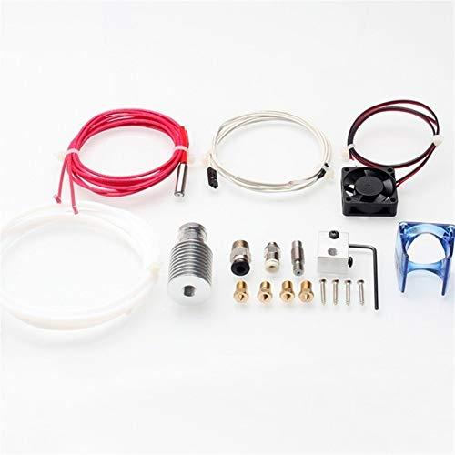 Hotend Kit Stampante 3D J-head Hotend Con Ventola Alluminio Dissipatore In Acciaio Inox Parti Di...