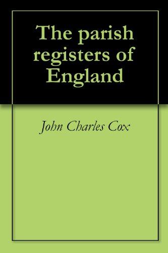 The parish registers of England