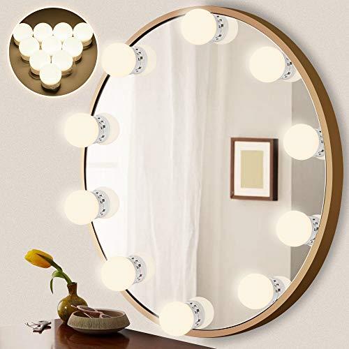 LEDMO luci da specchio lampadine specchio trucco dimmerabili con 5 modalità Specchio Stile...